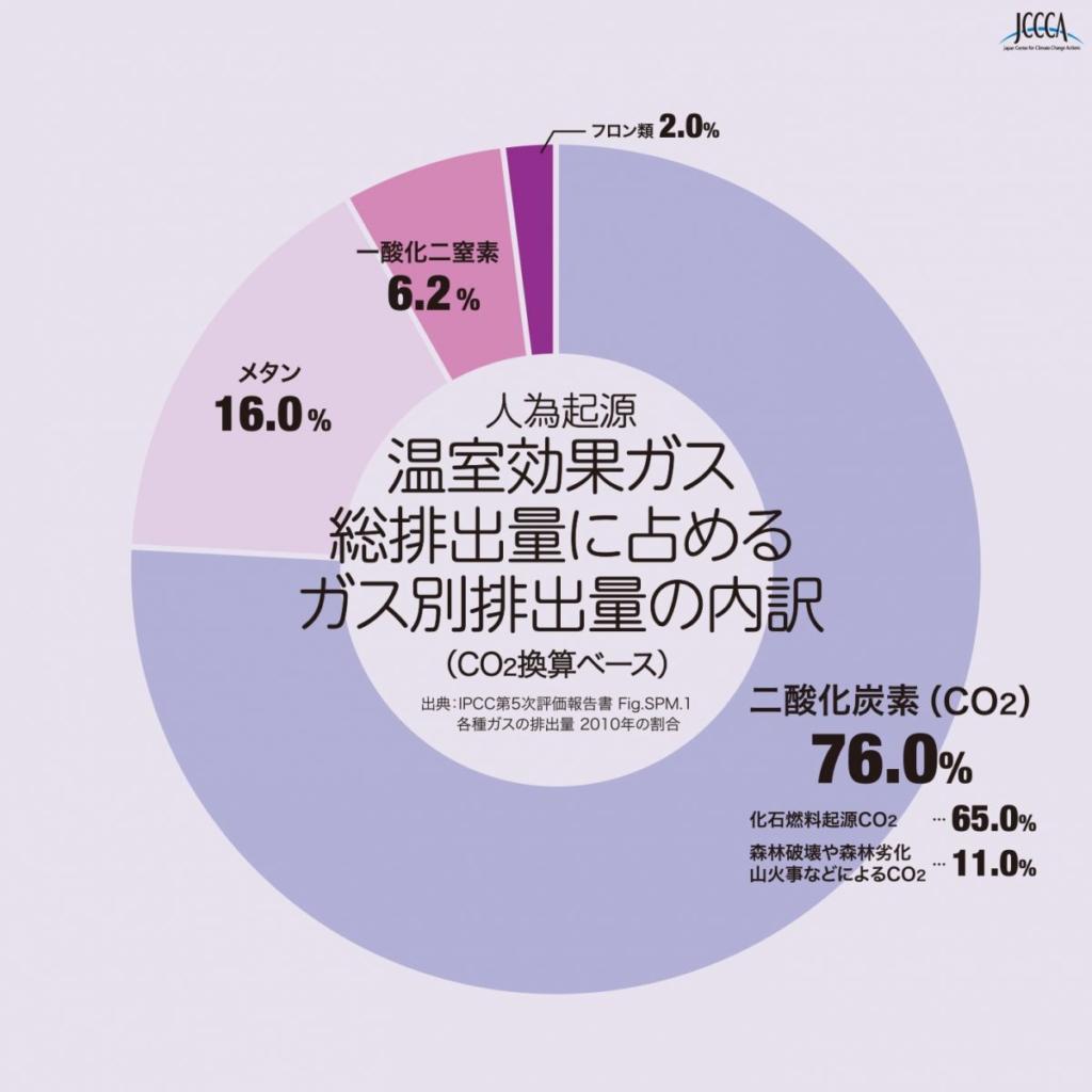 二酸化 炭素 割合